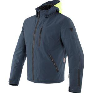 Dainese Mayfair D-Dry Motorsykkel tekstil jakke Grå Gul 56