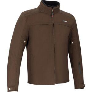 Bering Zander Motorsykkel tekstil jakke Brun 4XL