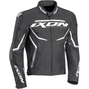 Ixon Swinter Sport Motorsykkel tekstil jakke Svart Hvit 2XL