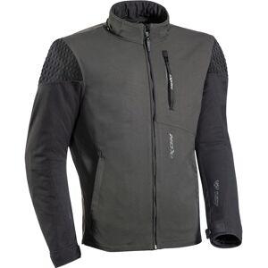 Ixon Brixton Motorsykkel tekstil jakke Svart Grå XL