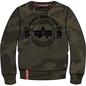 Alpha Industries Authentic Vinyl Sweatshirt Flerfarget XL