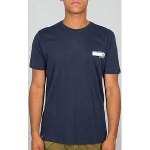 Alpha Industries Blount Ave T-shirt Blå S
