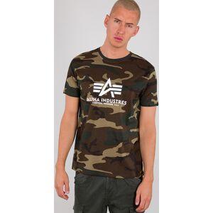 Alpha Industries Basic Camo T-shirt Flerfarget 2XL