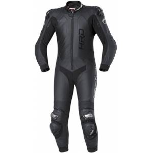 Held Slade One Piece Motorcycle Leather Suit Ett stykke Motorsykkel skinn Dress 30 Svart