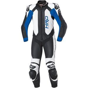 Held Slade One Piece Motorcycle Leather Suit Ett stykke Motorsykkel skinn Dress 54 Svart Blå