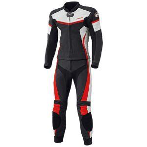 Held Spire Two Piece Motorcycle Leather Suit To stykke Motorsykkel skinn Dress 58 Svart Rød