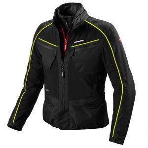 Spidi Intercruiser Motorsykkel tekstil jakke 2XL Svart Gul