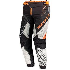 Scott 450 Angled Motocross bukser 30 Svart Oransje