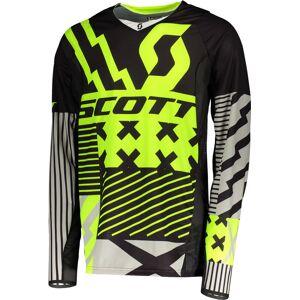 Scott 450 Patchwork Motocross Jersey 2XL Svart Gul
