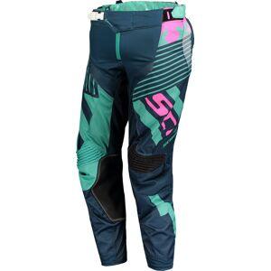 Scott 450 Patchwork Motocross bukser 30 Blå