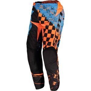 Scott 350 Track Motocross bukser 2018 32 Blå Oransje