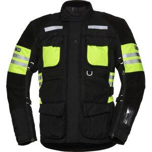 IXS X-Tour LT Montevideo-ST vanntett motorsykkel tekstil jakke 3XL Svart Gul