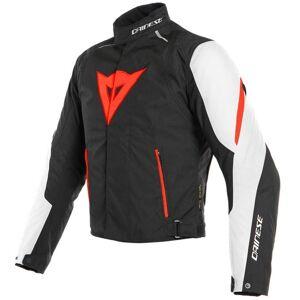 Dainese Laguna Seca 3 D-Dry Motorsykkel tekstil jakke 48 Svart Hvit Rød