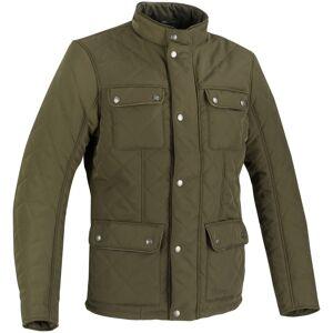 Bering Maximus Motorsykkel tekstil jakke 4XL Grønn Brun