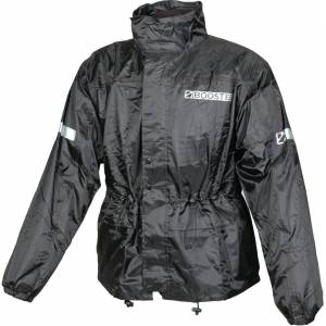Booster Stream Rain Jacket M Svart