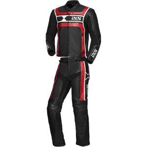 IXS Sport RS-500 To stykke Motorsykkel skinn Dress 54 Svart Hvit Rød