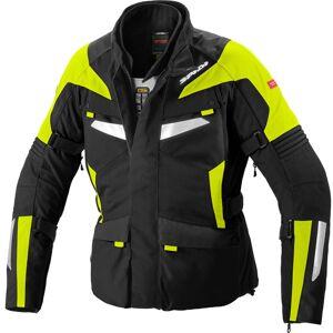 Spidi Alpentrophy H2Out Motorsykkel tekstil jakke 4XL Svart Gul