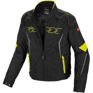 Spidi Tronik Tex Motorsykkel tekstil jakke S Svart Gul