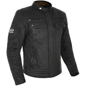 Oxford Hardy Wax Motorsykkel tekstil jakke 2XL Svart