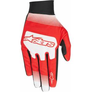 Alpinestars Teton Plus Sykkel hansker XL Hvit Rød