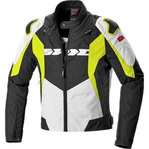 Spidi Sport Warrior Tex Motorsykkel tekstil jakke L Svart Hvit Gul