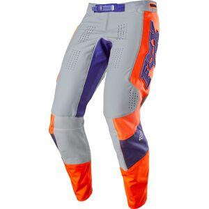 FOX 360 Linc Motocross bukser 30 Grå Oransje