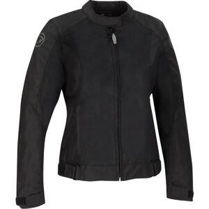 Bering Riko Kvinners motorsykkel tekstil jakke 46 Svart