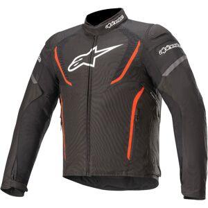 Alpinestars T-Jaws V3 Vanntett motorsykkel tekstil jakke S Svart Rød