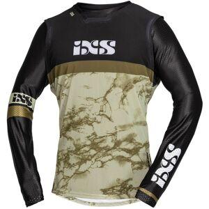 IXS Trigger Motocross Jersey XS Svart Beige