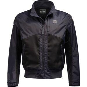 Blauer Thor Air perforert motorsykkel tekstil jakke L Blå