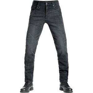 Pando Moto Boss Black 9 Motorsykkel Jeans 33 Svart