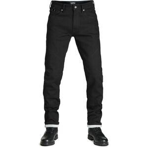 Pando Moto Steel Black 9 Motorsykkel Jeans 36 Blå