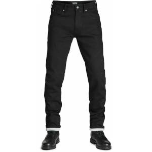 Pando Moto Steel Black 9 Motorsykkel Jeans 29 Blå