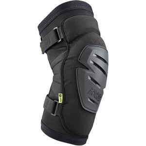 IXS Carve Race Knee Protectors Kneet Beskyttere L Svart