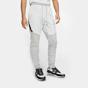 Nike Tech FLC Joggers, Platinum/Grey