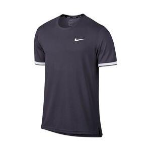 Nike Dry Top Team Gridiron/White S