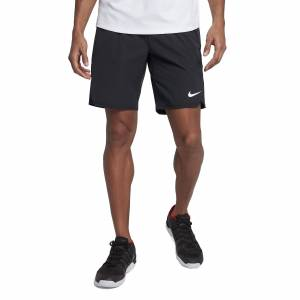 Nike Court Flex Ace 9'' Shorts All Black XL