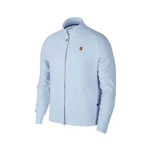 Nike Court Heritage Jacket Half Blue/White M