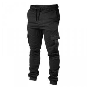 Better Bodies BB Alpha Street Pants, black, small Treningsbukser herre