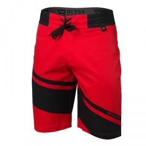 Better Bodies Pro Board Shorts, bright red, large Badetøy herre