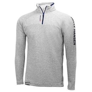 HP 1/2 Zip Pullover 853 Grey Fog Melange XL