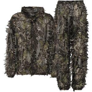 Seeland Leafy set, jakke og bukse, kamuflasjesett M Camo