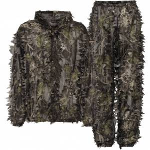 Seeland Leafy set, jakke og bukse, kamuflasjesett XXL Camo