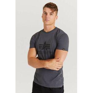 Alpha Industries T-Shirt Basic T-Shirt Grå