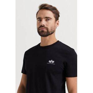 Alpha Industries T-SHIRT Basic T-shirt Small Logo Svart