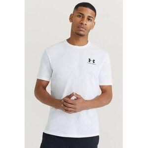 Under Armour T-Shirt Ua Sportstyle Lc Ss Vit  Male Vit