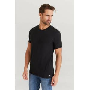 Nike T-Shirt S/s Crew Neck 2pk Svart  Male Svart