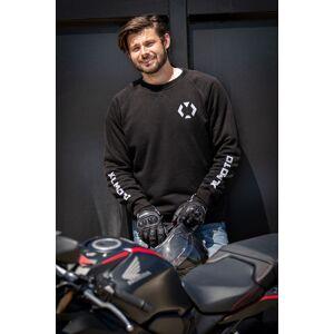 XLMOTO MC-Sweatshirt Full Aramid Svart-Silver