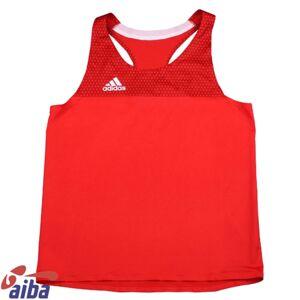Adidas Boxningslinne Herr Aiba Röd