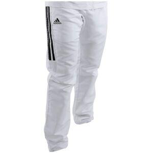 Adidas Overallsbyxa Vita med Svarta ränder